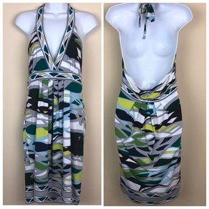 BCBG MaxAzria Halter Dress - Sz Medium